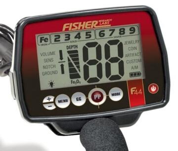 Metalldetektor Fisher F11 Elektronikeinheit