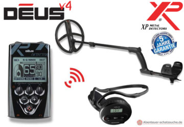 XP Deus 28 rc sw komplett Set