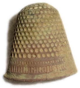 Bild Fingerhut Mittelalter