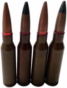 Munitionsfund Scharfe Patronen