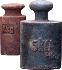 Gewicht beim Metalldetektorkauf
