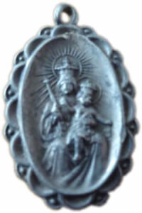 Heiligenanhänger Silber