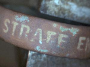 Ring WW1 Gott Strafe England Inschrift strafe