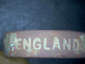 Ring WW1 Gott Strafe England Inschrift England