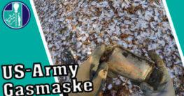 US-Army Gasmaske gefunden