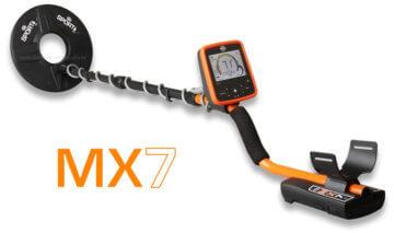 Metalldetektor Whites MX7 Komplettansicht
